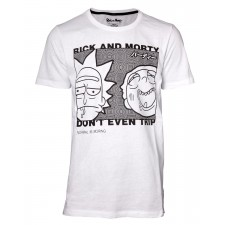 Camiseta Rick and Morty -...