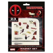 Marvel Set Imanes - Deadpool