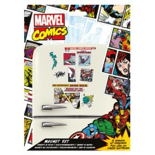 Marvel Set Imanes - Retro