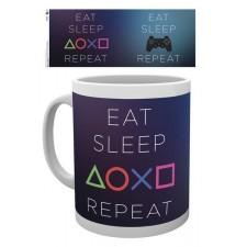 Playstation Taza EAT SLEEP...