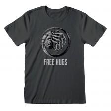 Camiseta Aliens - Free Hugs...