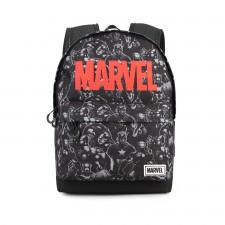 Marvel Negro Mochila HS 1.2...