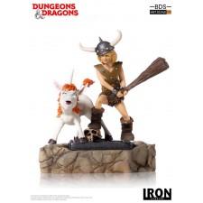 Bobby The Barbarian & Uni Dungeons & Dragons Estatua BDS Art Scale