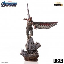 Falcon Vengadores: Endgame Estatua BDS Art Scale 1/10