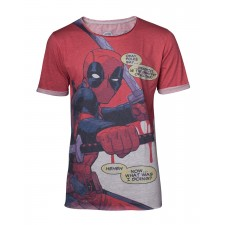 Camiseta Deadpool Mangas...