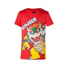 Camiseta Bowser Super Mario...