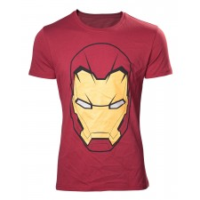 Camiseta Iron Man Head...