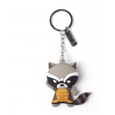 Llavero de Goma 3D Raccoon...