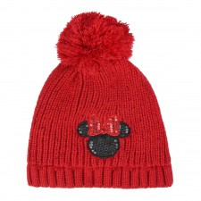 Disney Gorro con Pompon Minnie