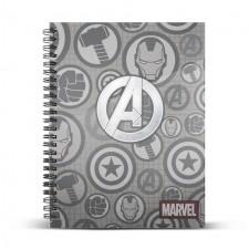 AVENGERS Cuaderno A4 Assault
