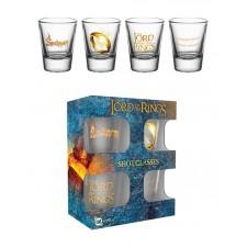 Pack 4 vasos de chupito...