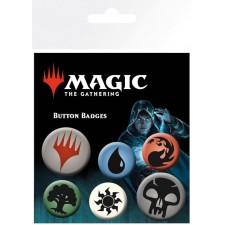 Set de 6 chapas Magic the...