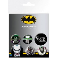 Set de 6 chapas DC Comics -...