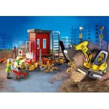 Mini Excavadora - Playmobil
