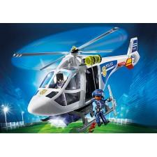 Helicóptero de Policía con...