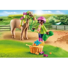 Niña con Poni - Playmobil