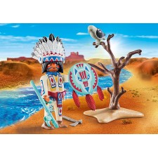 Jefe Nativo Americano -...