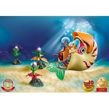 Sirena con Caracol de Mar -...