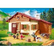 Heidi en la Cabaña de los...