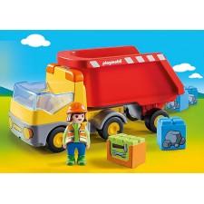 Playmobil - 1.2.3 Camión de...