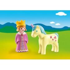 Playmobil - 1.2.3 Princesa...