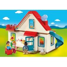 Playmobil - 1.2.3 Casa