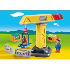 Playmobil - 1.2.3 Grúa