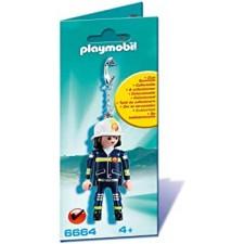 Llavero Bombero - Playmobil