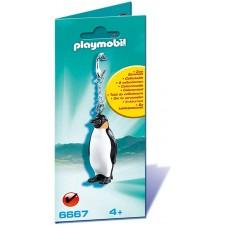 Llavero Pingüino - Playmobil