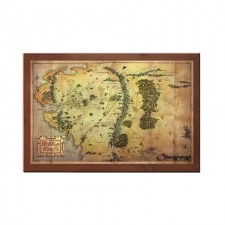 El Hobbit - Mapa de la...